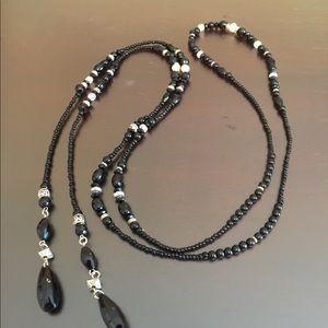 """Jewelry - 54"""" Beaded Lariat"""
